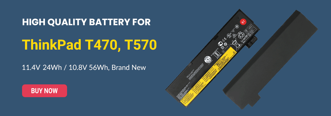Battery for Lenovo ThinkPad T570
